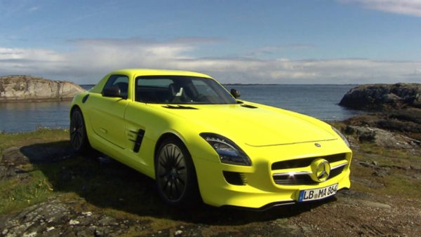 Beweges Camera Crew for Mercedes Benz SLS E Drive world premiere