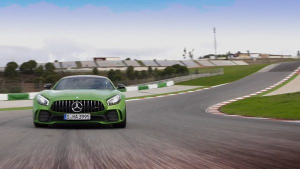 Camera Crew for Mercedes Benz AMG GTR Global launch footage